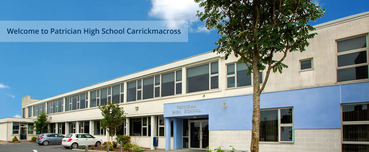 Welcome to Patrician High School Carrickmacross